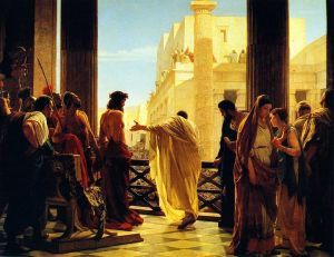 """Ecce Homo"" - Antonio Ciseri [Public domain], via Wikimedia Commons"