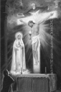 The most spiritually accurate depiction of the Passion, presented to Sr. Lucy of Fatima, in a vision.