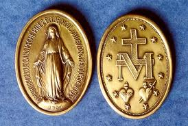 Click on Image to be Brought to the Association of the Miraculous Medal, or the AMM.